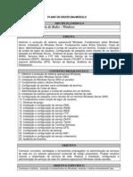 EMENTA - Administração de Redes (Windows)