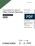 Sony NEX-EA50 Manual