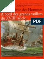 A bord des grands voiliers du XVIII siécle