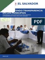 Construyendo Transparencia en Los Municipios_EL SALVADOR