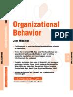 Organizational Behavior - John Middleton