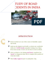 Study of Road Accidents in India