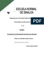 Ensayo Etica II