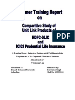 Comparitive Study ICICI & HDFC
