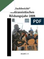 Sachbericht 2008