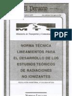 R.M. Nº 612-2004-MTC 03