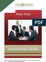 24 Tecniche Efficaci Di Chiusura Brian Tracy