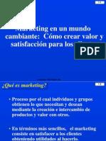 1) Marketing en Un Mundo Cambiante