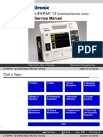 Defibrillator/Monitor LIFEPAK 12 Service Manual
