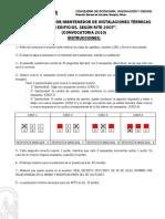 Examen 2010 y Plantilla de Respuestas - Instalaciones Termicas en Edificios (RITE-07)