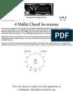 4 Mallet Chord Inversion - Mallets
