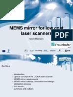 MEMS mirror