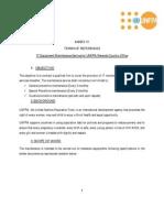 ANNEX_III_TOR_IT Maintenance Services - Scope of Work