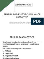Epidemiomiología Pruebas Diagnosticas