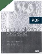 Naturaleza y sociedad. Perspectivas antropológicas_P. Descola y G. Palsson