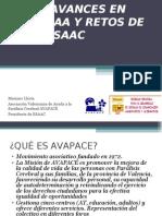 Comunicación aumentativa y alternativa- Avances técnicos y desafíos del ESAAC