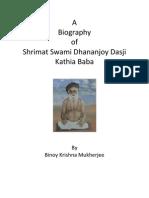 Biography-book Swami Kathya Baba