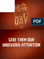 Father's Day 2013 - Notes