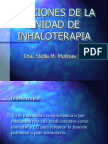 terapias respiratoria funciones