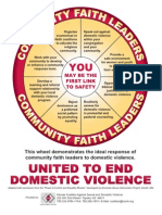 Community Faith Leaders Response Wheel