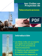 Aspectos Civiles para Bases Terrestres de Telecomunicaciones  ( Microvawe antenna ground stations