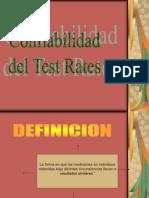 Confiabilidad de Test Retes