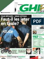L'entier du GHI du 30 avril 2009 - GHI, le journal le plus lu à Genève