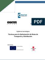Vigilancia Tecnologica Tecnicas Optimizacion Rutas