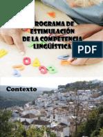 Programa de Estimulación de la Competencia Lingüística en EI y EP