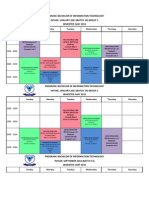 FICT Tentative Timetable - May 2013