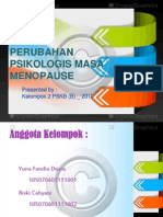 Kel. 2 Perubahan Psikologis Menopause