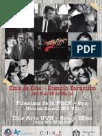 Tapa - Contratapa Diptico Tarantino (Parcial)