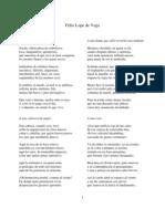 Sonetos Quevedo, Góngora y Lope de Vega