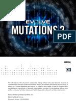 Manual evolve mutations 2