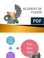 ACUERDO DE FUSIÓN