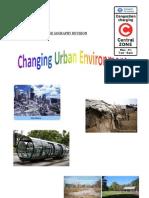 Changing Urban Environments Revision