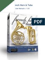 French Horn & Tuba Manual v. 1.03