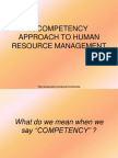 Compentency Mapping