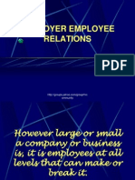 Employer Employee Relations