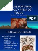 Heridas Por Arma Blanca y Arma de Fuego