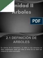 Unidad II Arboles