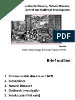 Communicable Disease Epidemiology, Surveilans, And Control - Jontari Hutagalung - [3 April 2012]