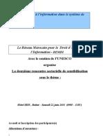 journée d'étude sur le droit d'accés à l'information en matiére de santé.pdf