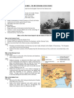 WWI Review