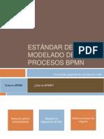 Estándar de modelado de procesos BPMN