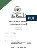 Informe de Sociologia III Parcial