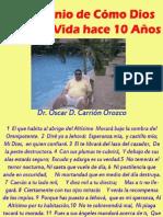 Testimonio de Salvación 2013 Dr. Oscar D. Carrión O.  Decimo Aniversario.pdf