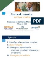 Elemental - Taller Escritura Creativa - Melisa Mercado