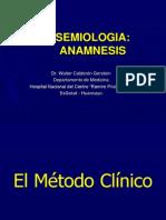 Semiología Médica - Anamnesis