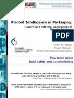 Printed Intelligence in Packaging